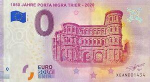 BILLET-0-JAHRE-PORTA-NIGRA-TRIER-ALLEMAGNE-2020-NUMERO-DIVERS