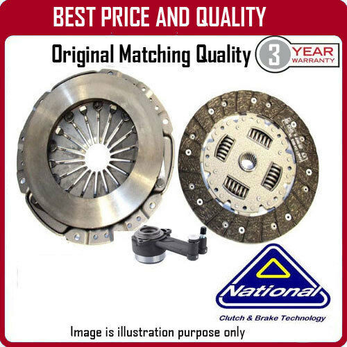 CK9871-58 NATIONAL 3 PIECE CSC CLUTCH KIT  FOR RENAULT CLIO