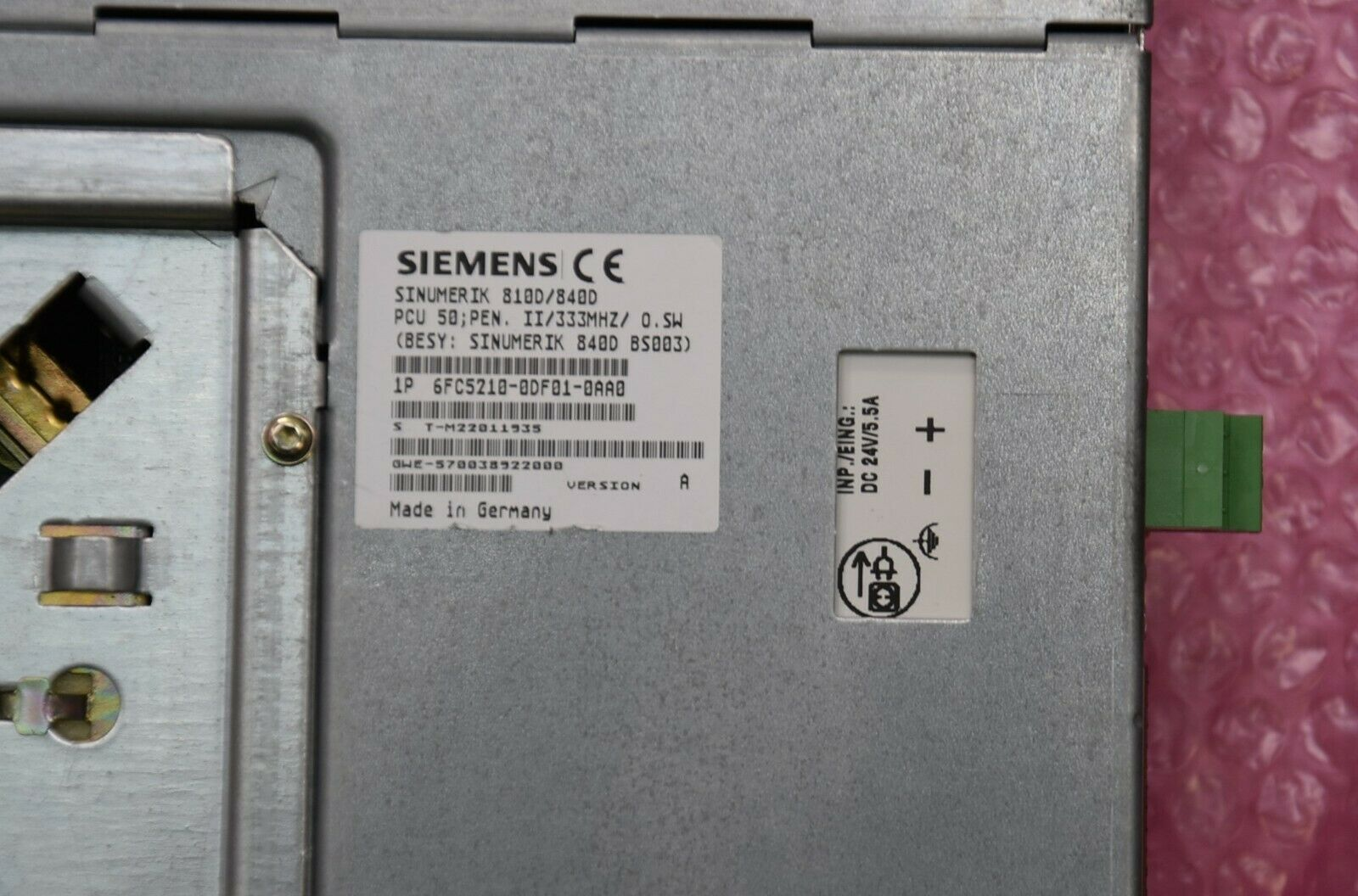 Enormous Siemens 6fc5210-0df01-0aa0 12 Months for sale