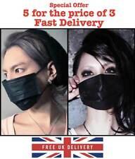 Non tessuti maschera nera, anti-polvere, CICLISMO, smog, Carbon Active X 3.