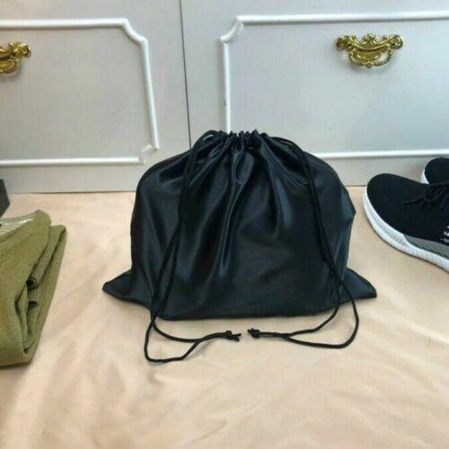Stockage de 2x avec cordon de serrage Sac Satin Poussière étui Bijoux Soft Black Chaussures Sac à Main Kit