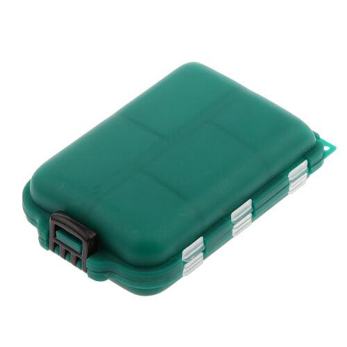 Wasserdicht Angelbox Leer Angelkasten Gerätebox Angelköder Fischköder box