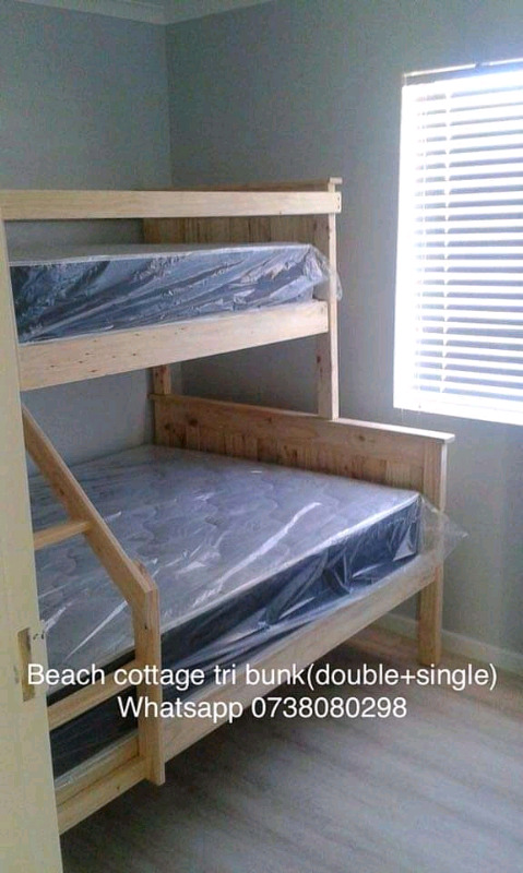 New Beach Cottage Tongue And Groove Tri Bunk Beds Bellville Gumtree Classifieds South Africa 779418204