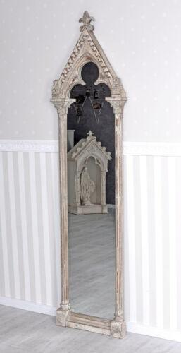 Fensterspiegel Antik Spiegel Shabby Wandspiegel Ankleidespiegel Standspiegel