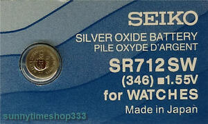Cr2016 Seiko Watch Battery Made in Japan Lithium 3v