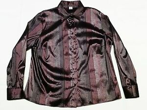 CAMICIA-CALIBRATA-tg-53-BIG-SHIRT-size-53-Made-in-Italy-Manica-lunga-Long-sleeve