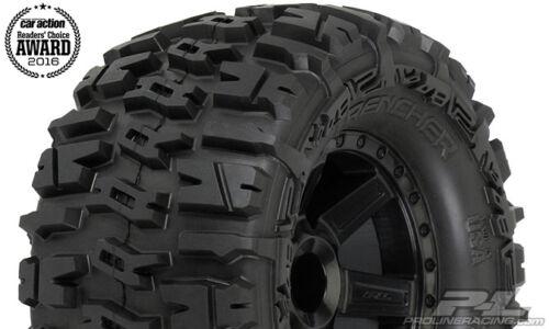 "Black 2 ProLine 1170-13 Trencher 2.8/"" Tires w//Desperado Electric Rear Wheels"