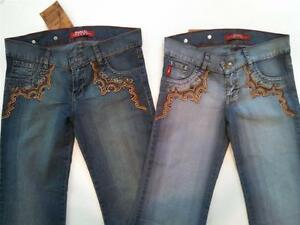 Para Mujer Studio F Bordado Denim Jeans Varios Tamanos Nuevo Con Etiquetas 102 Usd Ebay