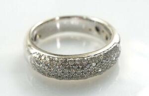 traumhafter-585er-Gold-Ring-14-Kt-Weissgold-Achtkantdiamanten-6-46-Gramm-Gr-55