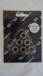 Kit-rulli-variatore-RMS-Roller-weights-Aprilia-Habana-Kat-50cc-17X12-7-5g