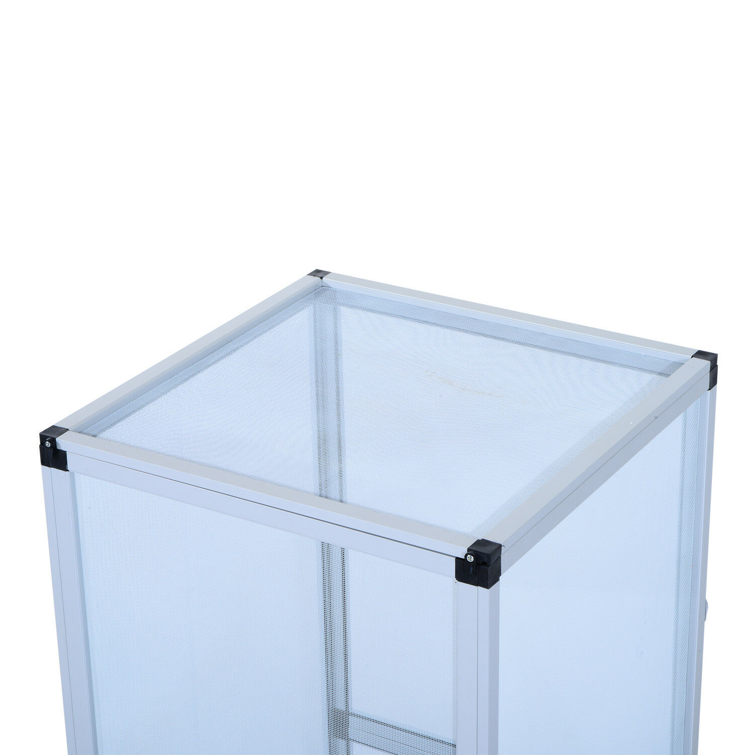 Reptile Cage Tank Home Pet Aluminum Breeding Box Insect Insect Insect Turtle Waterproof Large 81bcf4