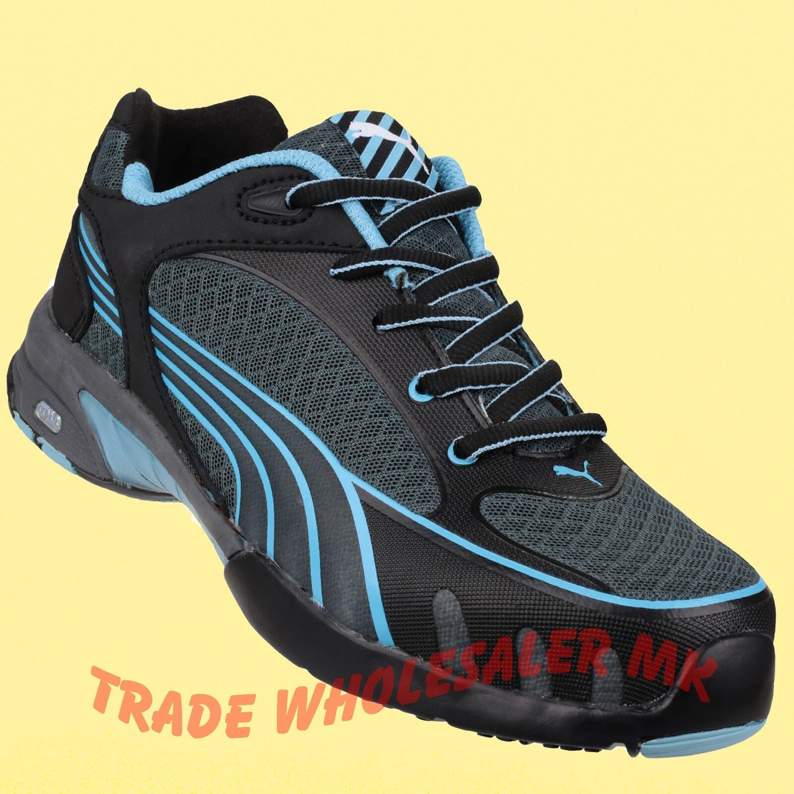 Zapatos casuales salvajes Puma Fuse Motion industrial Damas AQUA S1 HRO Puntera De Seguridad tenis