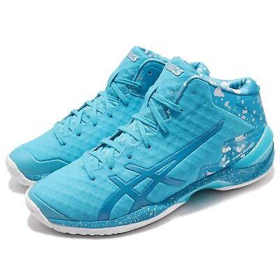 Asics Gel-burst 21 Ge Hi Aqua Island Blue Men Basketball Shoes Tbf30g-3941 Athletic Shoes