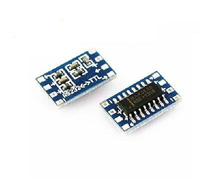 2pcs Mini RS232 To TTL MAX3232 Converter Adaptor Module Serial Port Board