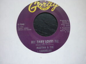 martha reeves my baby loves me gordy  usa orig northern soul 45