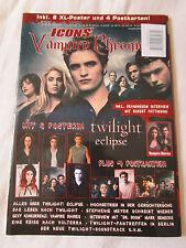 ICONS Vampire Chronicle Magazin 02/2010 Twilight Eclipse Robert Pattinson