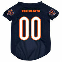 Chicago Bears Pet Dog Mesh Football Jersey All Sizes Licensed