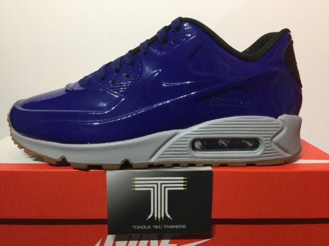 f2f01d76af Nike Air Max 90 VT QS Patent Leather Shiny Royal Blue Men Running ...