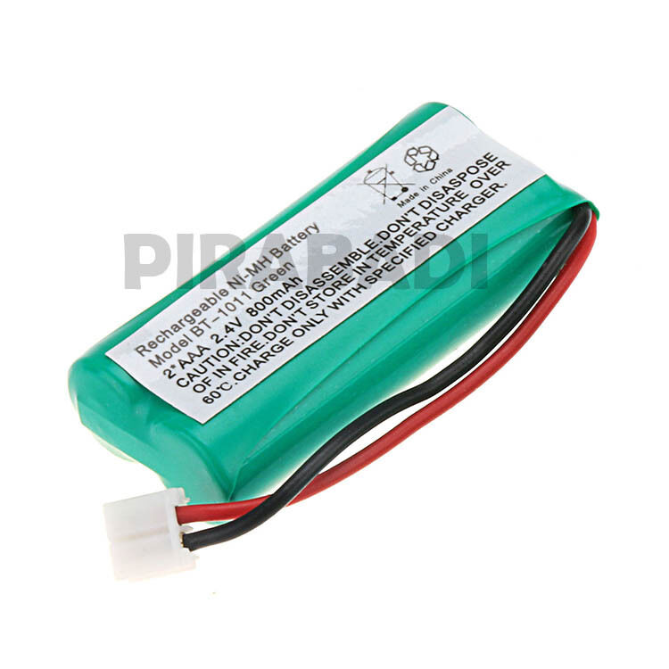 Battery aaa rechargeable 2.4v 800mah ni
