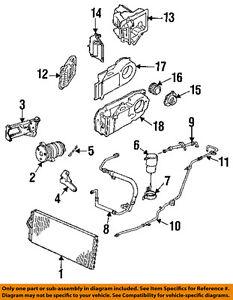Details about Cadillac GM OEM 1991 DeVille 4.9L A/C Condenser Compressor on