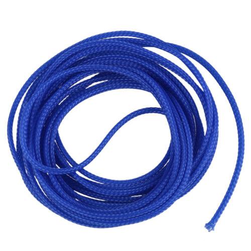 5M 4mm erweiternd umsponnene Kabel Draht Umhuellung aermel Schlauch Kabelba A7K7