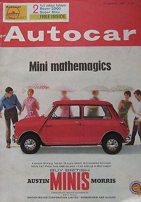 Autocar Magazine 2731964 Featuring Vw 1500s Road Test Indy Novi