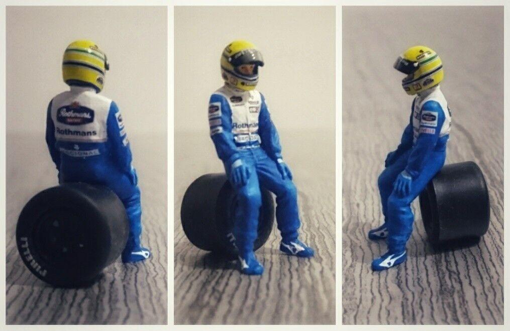 Ayrton SENNA Williams Renault 1994 figurine diorama 1 43 F1 driver figure