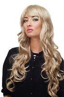 Wig Blond-brown-mix Curles Wavy Long Side Part 70 Cm 9204s-613l/18