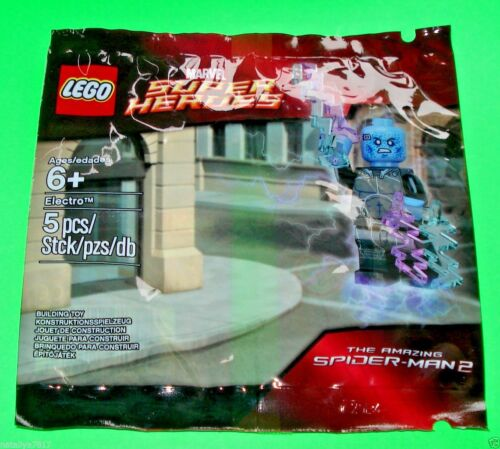 LEGO SUPER HEROES SPIDERMAN ### ELECTRO IM POLYBAG 5002125 NEU NEW ### =TOP