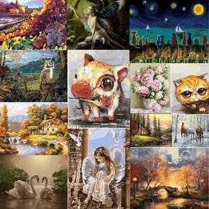 ... 18 Types Tableau Peinture A Huile Toile Numero