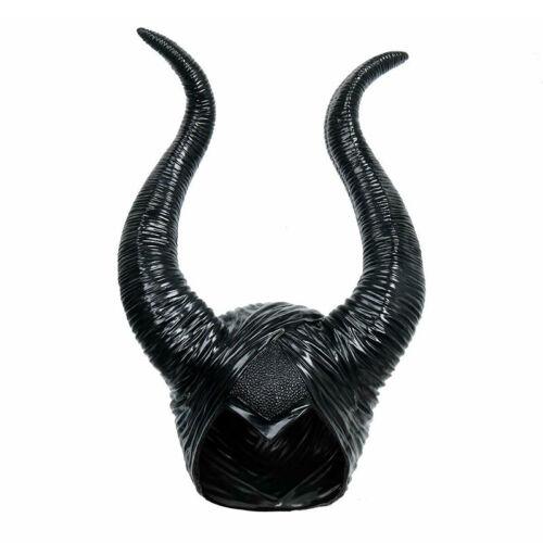 Halloween Hat Horns Cosplay Maleficent Evil Queen Headpiece Headwear Costum WTPA