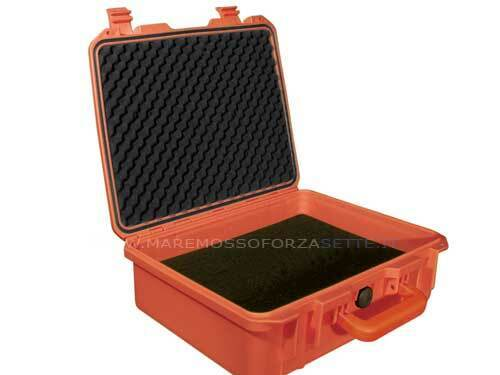 VALIGIA VALIGIA VALIGIA BORSA BOX STAGNA mm 330 x 280 x 120 ROSSA IMPERMEABILE ERMETICA f03c2a