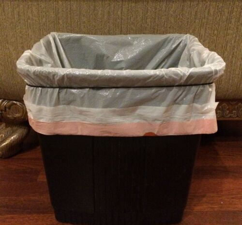"""Large Rubber Bands Cat Litter Liner Band 7/"""" Fits up to 13 Gal Trash Can Liner"""