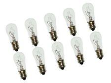 S-6 shape 3 W CEC Industries #3S-6//5 120V Bulbs Box of 10 120 V E12 Base