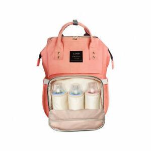 24fb218d92ed HaloVa Multi-Function Diaper Bag - Orange