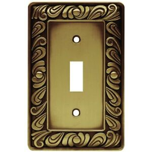 Money Decorative Single Toggle Light Switch Plate Cover