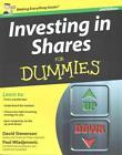 Investing in Shares For Dummies von Paul Mladjenovic und David Stevenson (2012, Taschenbuch)
