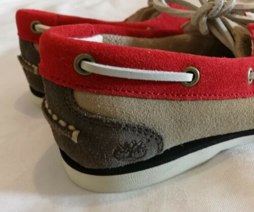 Uk 36 3 5 Timberland Earth 5 Lace Keepers Leather Up Moccasin Deck Eu Suede qg4waAZ