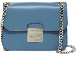 e938fb3d1c1e2e $358 NWT MICHAEL Michael Kors Sloan Leather Shoulder Crossbody Bag ...