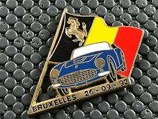 PINS PIN BADGE CAR FERRARI BRUXELLES
