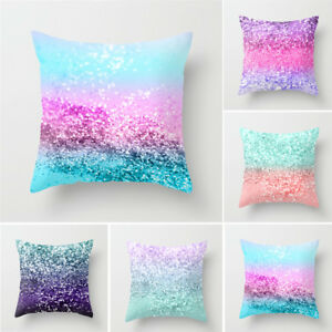 Multicolor-Pillow-Cover-Sofa-Waist-Throw-Cushion-Case-Home-Decor-New