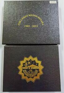 2015-MALAYSIA-Jubli-Emas-Masjid-Negara-Silver-Proof-Coin-Set-Cert-No-35-with-Box