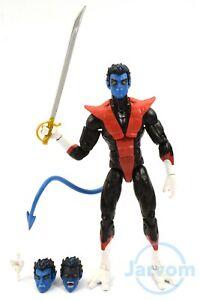 "Marvel Legends Nightcrawler X-Men 6/"" Wendigo Wave Loose No Baf Piece"