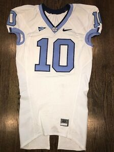 low priced 246d8 9881d Game Worn Used North Carolina Tar Heels UNC Football Jersey ...