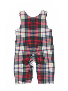 New-Baby-Boy-CPC-Chidrenswear-Tucker-Scottish-Plaid-Wool-Longall-Size-6-9-M