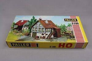 Z291-Faller-B-213-maquette-Ho-Maison-nid-cygogne-house-stork-039-s-nest-kit-213