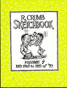 R-Crumb-Sketchbook-Mid-1969-to-End-of-039-70-Anglais
