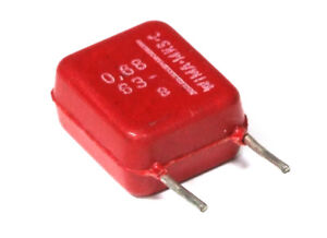 2x-WIMA-Mks-C-0-68uF-0-68-F-680nF-63V-Metalized-Polyester-Capacitor-Condensor