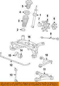 jaguar oem 09 15 xf rear suspension tie rod c2d51043 ebay rh ebay com jaguar xf rear suspension diagram jaguar x300 rear suspension diagram