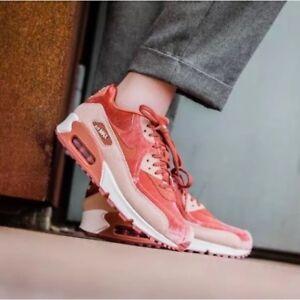 c5f1307d60f8 WMNS Nike Air Max 90 LX 898512-201 Dusty Peach Women s Running Shoes ...